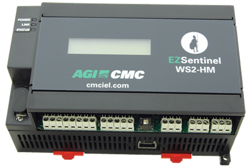 WS2-HM Webserver Controller – ideal solution to integrate into existing plant